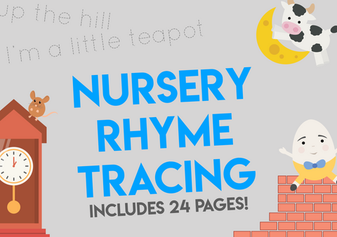 nursery rhyme tracing
