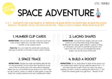 space adventure play and learn kit