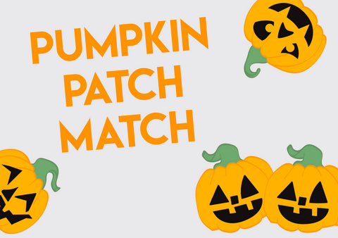 pumpkin patch expression matching activity