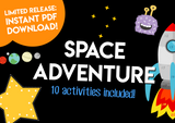 Play & Learn Kit - SPACE ADVENTURE