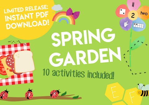 Play & Learn Kit - SPRING GARDEN