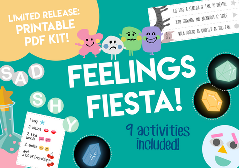 Play & Learn Kit - FEELINGS FIESTA!