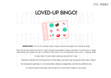 printable love theme bingo game