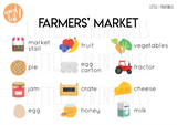 Play & Learn Kit - FARMERS' MARKET