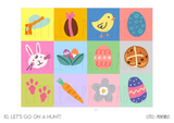 Play & Learn Kit - HOPPY EASTER