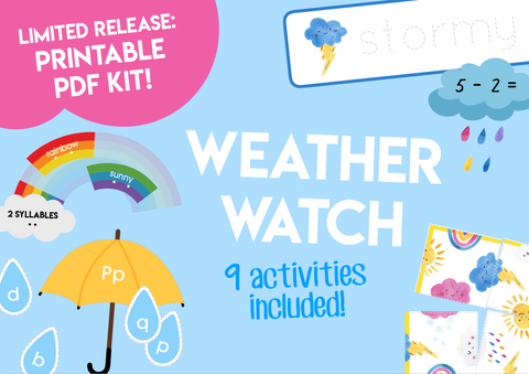 Play & Learn Kit - WEATHER WATCH