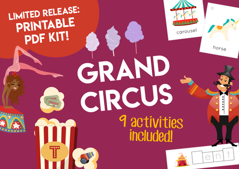 Play & Learn Kit - GRAND CIRCUS