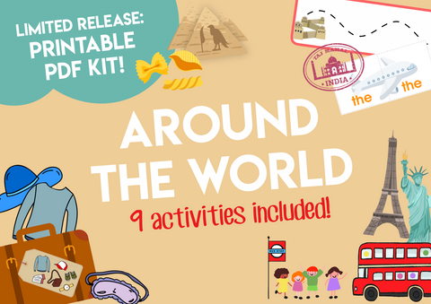 Play & Learn Kit - AROUND THE WORLD