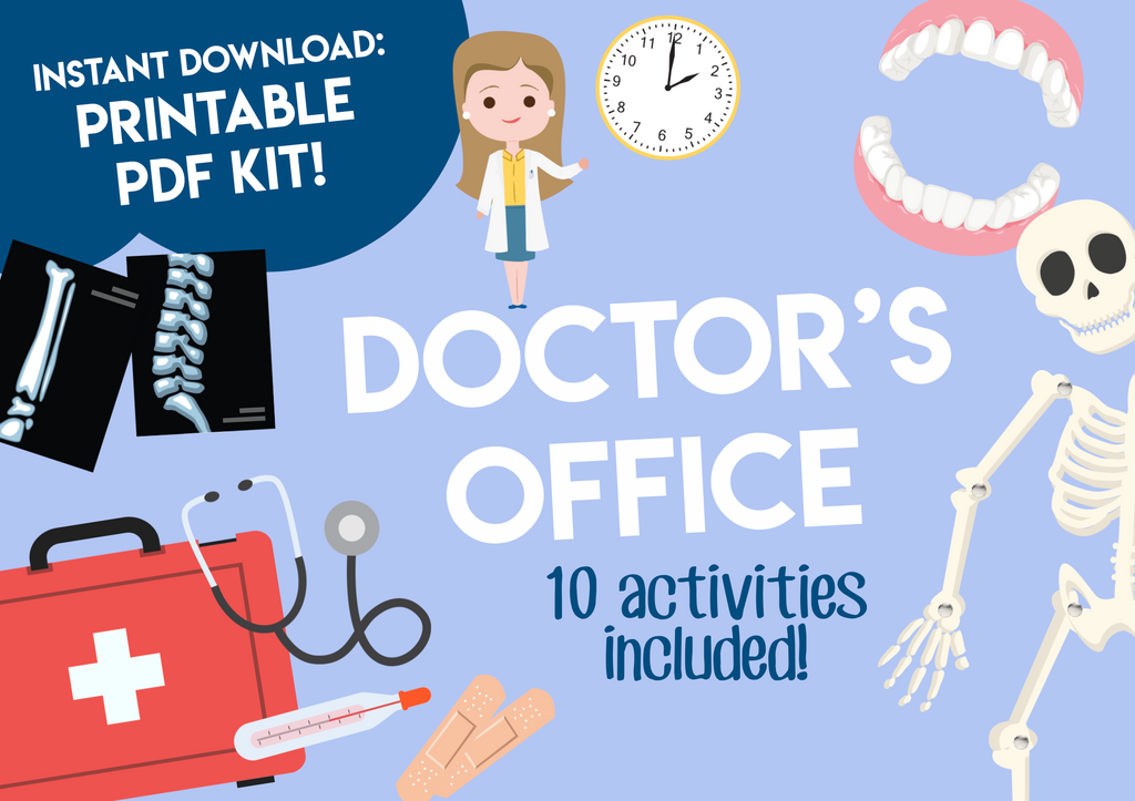 Play & Learn Kit - DOCTOR'S OFFICE