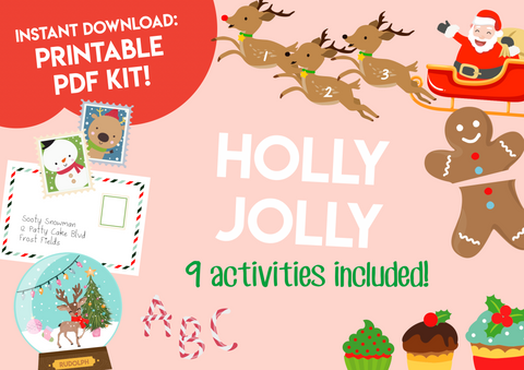 Play & Learn Kit - HOLLY JOLLY