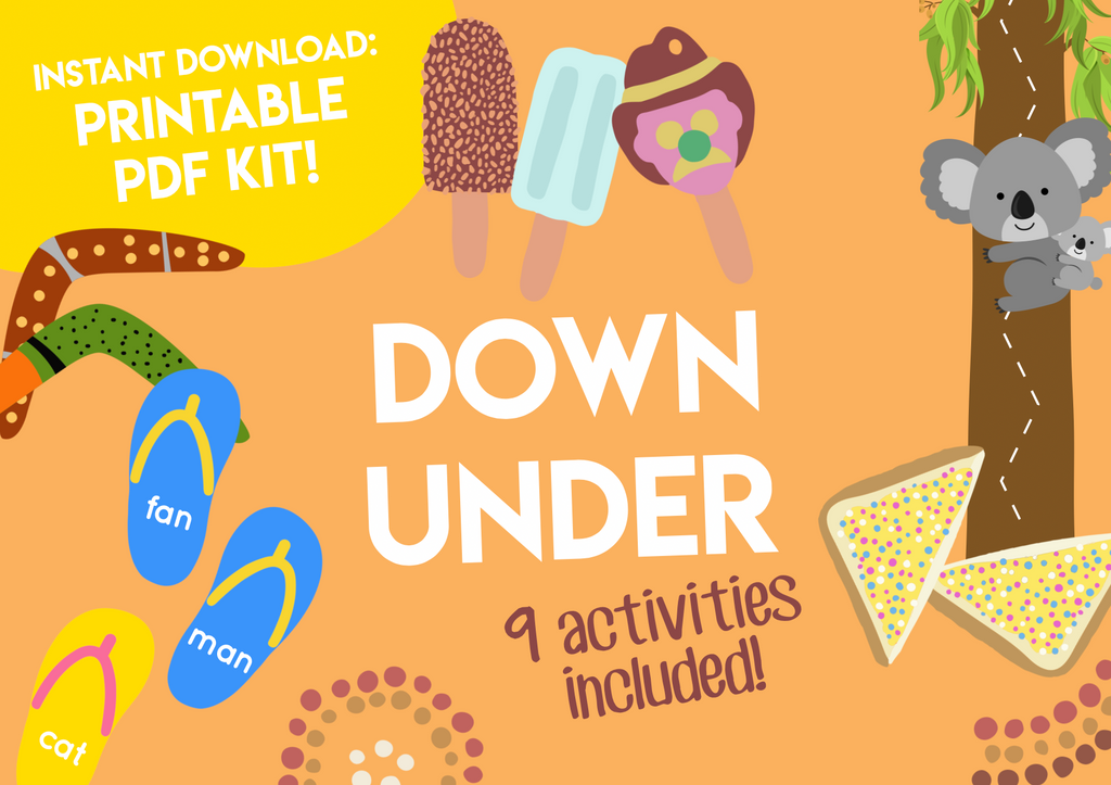 Play & Learn Kit - DOWN UNDER