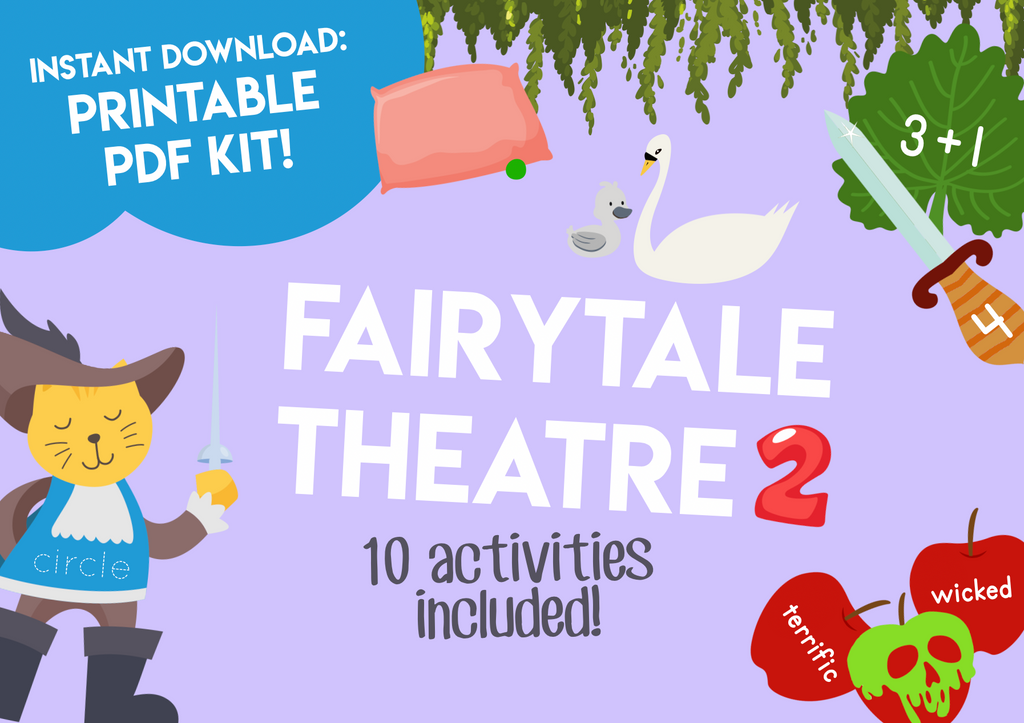 Play & Learn Kit - FAIRYTALE THEATRE 2