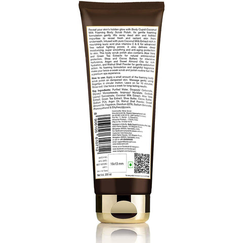 Image of Body Cupid Coconut Milk Body Scrub Polish - 200 mL - Body Cupid - Bath & Body Luxury