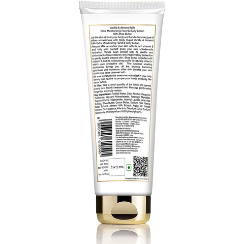 Image of Body Cupid Vanilla and Almond Milk Body Lotion - 200 mL Tube - Body Cupid - Bath & Body Luxury
