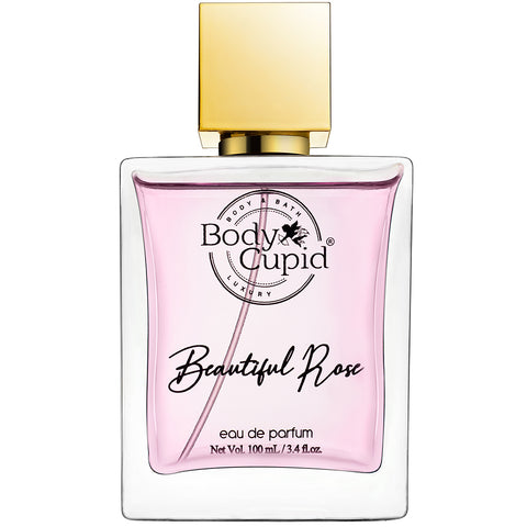Body Cupid Beautiful Rose Perfume (for women) - 100 mL - Body Cupid - Bath & Body Luxury