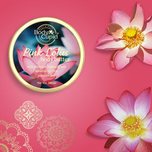 Body Cupid Pink Lotus Body Butter - 200 mL - Body Cupid - Bath & Body Luxury
