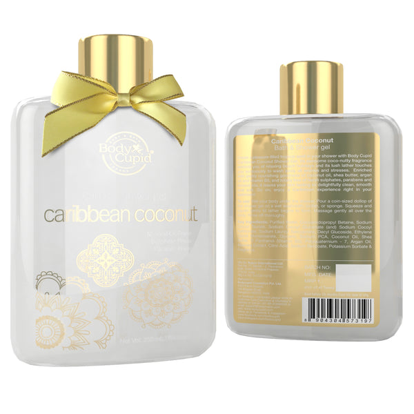 Body Cupid Caribbean Coconut Shower Gel - 250mL - Body Cupid - Bath & Body Luxury