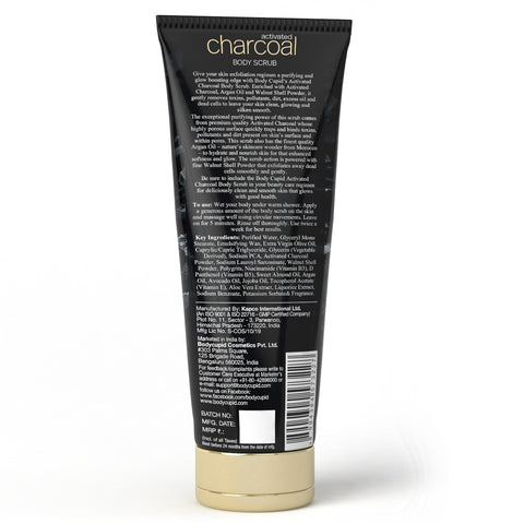 Image of Body Cupid Activated Charcoal Face Scrub - 200 mL - Body Cupid - Bath & Body Luxury
