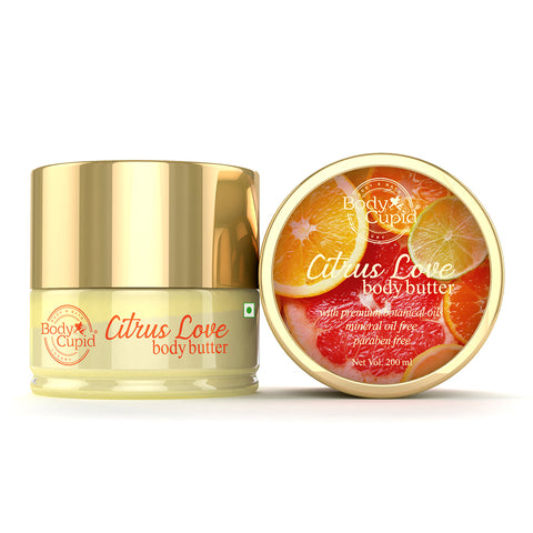 Image of Body Cupid Citrus Love Body Butter - 200 mL - Body Cupid - Bath & Body Luxury