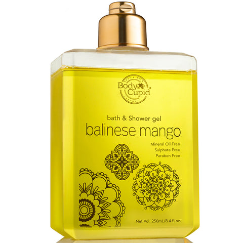 Body Cupid Balinese Mango Shower Gel - 250 mL - Body Cupid - Bath & Body Luxury