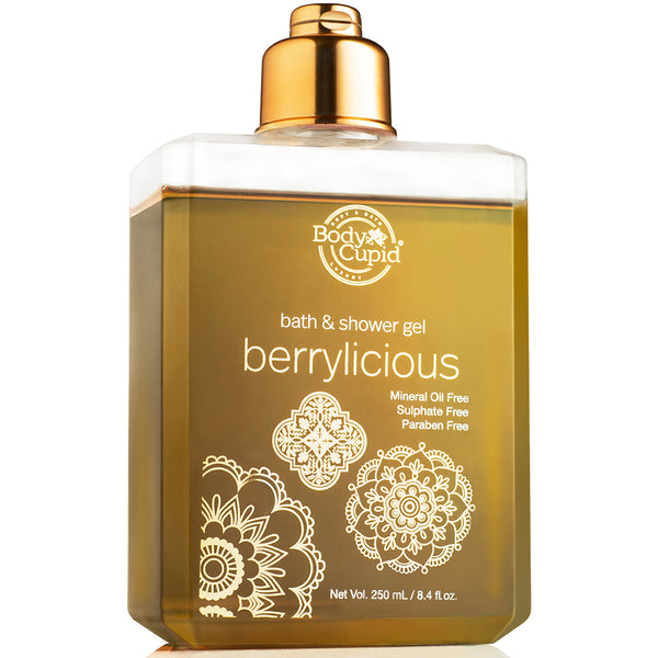 Body Cupid Berrylicious Shower Gel - 250mL - Body Cupid - Bath & Body Luxury
