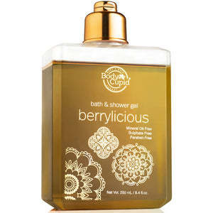 Body Cupid Berrylicious Shower Gel - 250 mL - Body Cupid - Bath & Body Luxury