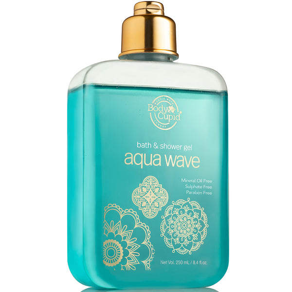 Body Cupid Aqua Wave Shower Gel - 250mL - Body Cupid - Bath & Body Luxury