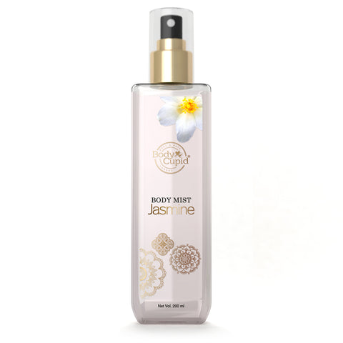 Body Cupid Jasmine Body Mist - 200 mL - Body Cupid - Bath & Body Luxury