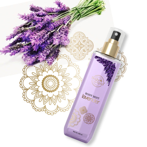 Body Cupid Lavender Body Mist - 200 mL - Body Cupid - Bath & Body Luxury