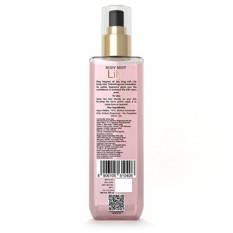 Image of Body Cupid Lily body Mist - Body Cupid - Bath & Body Luxury