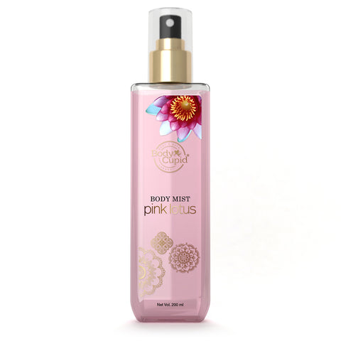Body Cupid Pink Lotus Body Mist - 200 mL - Body Cupid - Bath & Body Luxury