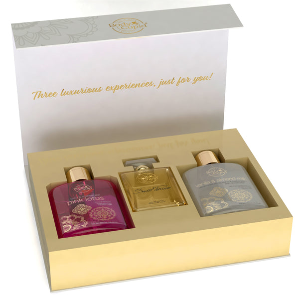 Body Cupid Ultimate Gift Collection - Perfume, Shower Gel & Body Lotion - Body Cupid - Bath & Body Luxury