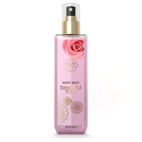 Image of Body Cupid Beautiful Rose Body Mist - 200 mL - Body Cupid - Bath & Body Luxury