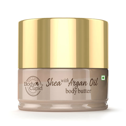 Body Cupid Shea with Argan Oil Body Butter - 200 mL - Body Cupid - Bath & Body Luxury