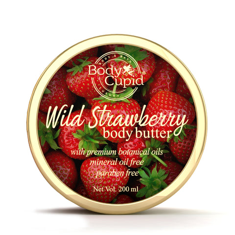 Image of Body Cupid Wild Strawberry Body Butter - 200 mL - Body Cupid - Bath & Body Luxury