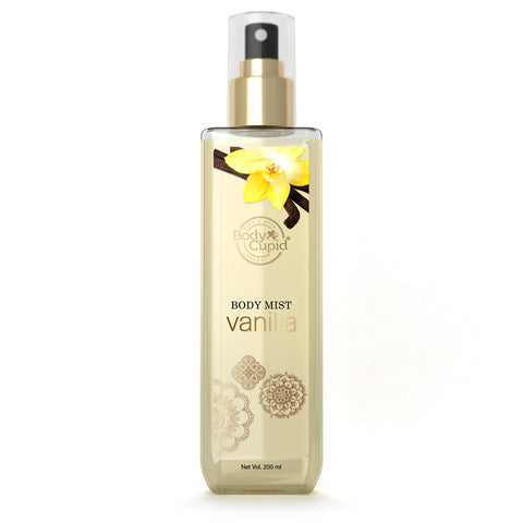 Image of Body Cupid Vanilla Body Mist - 200 mL - Body Cupid - Bath & Body Luxury