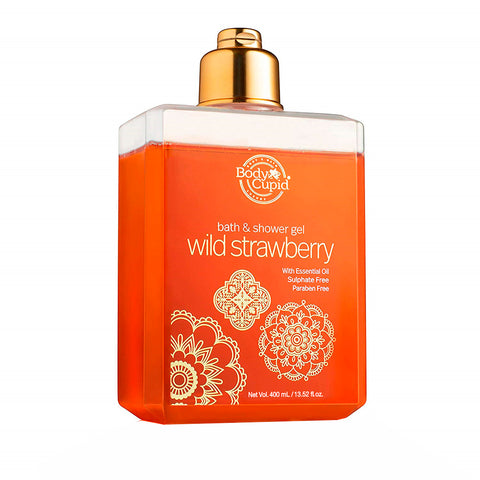 Image of Body Cupid Wild Strawberry Shower Gel - 250 mL - Body Cupid - Bath & Body Luxury