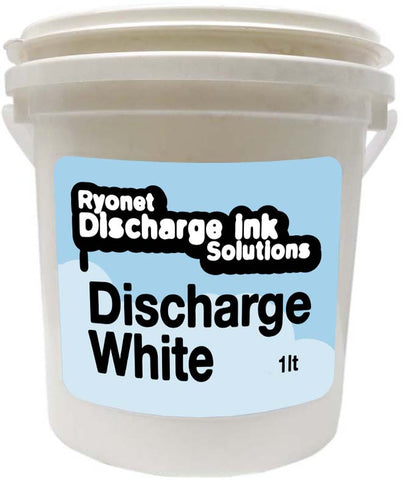 Discharge White Water Base Ink 1 Litre