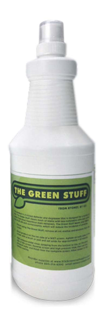 The Green Stuff Cleaner Degreaser Screen Print Reclaimer
