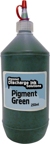 Water Based Pigment Green Ink 250ml