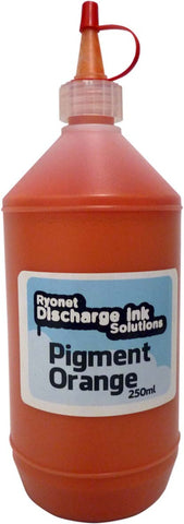 Water Based Pigment Orange Ink 250ml