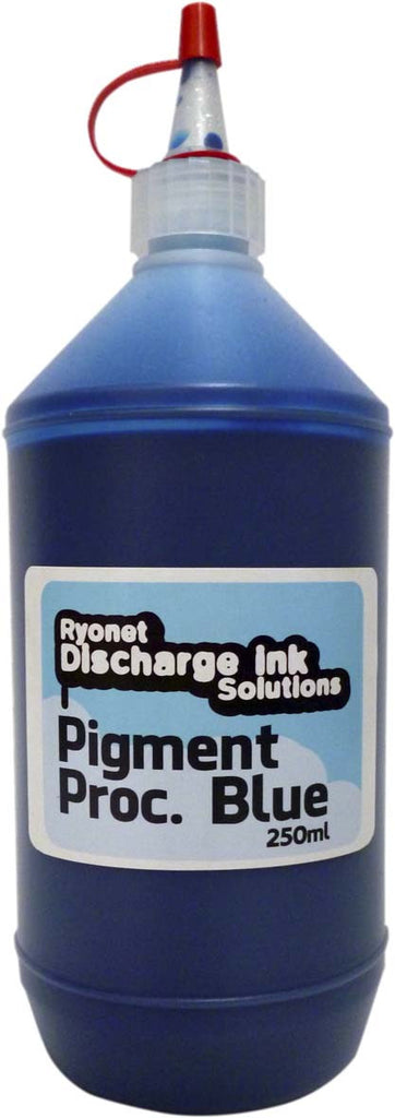 Water Based Pigment Process Blue Ink 250ml