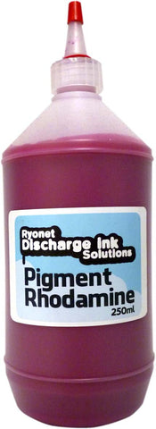 Water Based Pigment Rhodamine Red Ink 250ml