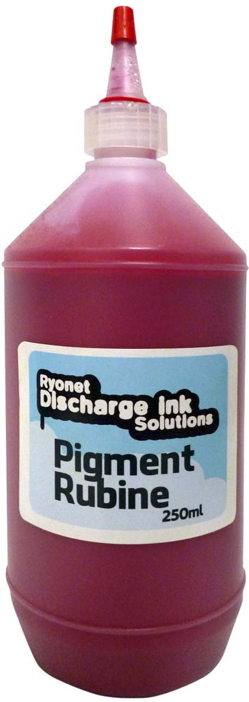 Water Based Pigment Rubine Red Ink 250ml