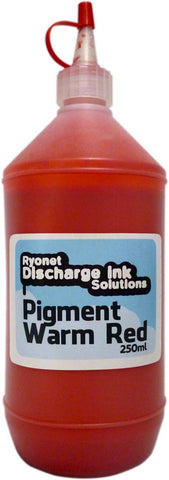 Water Based Pigment Warm Red Ink 250ml