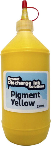Water Based Pigment Yellow Ink 250ml