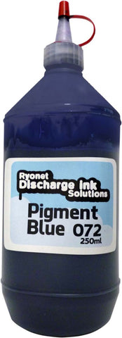 Water Based Pigment Blue 072 Ink 250ml