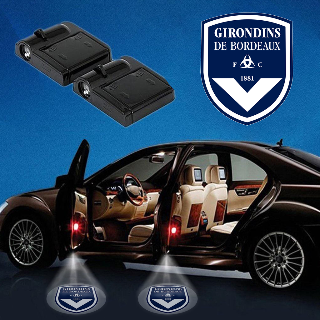 Carfbfra1 - 05 - FC Girondins de Bordeaux Wireless Car Door Projector