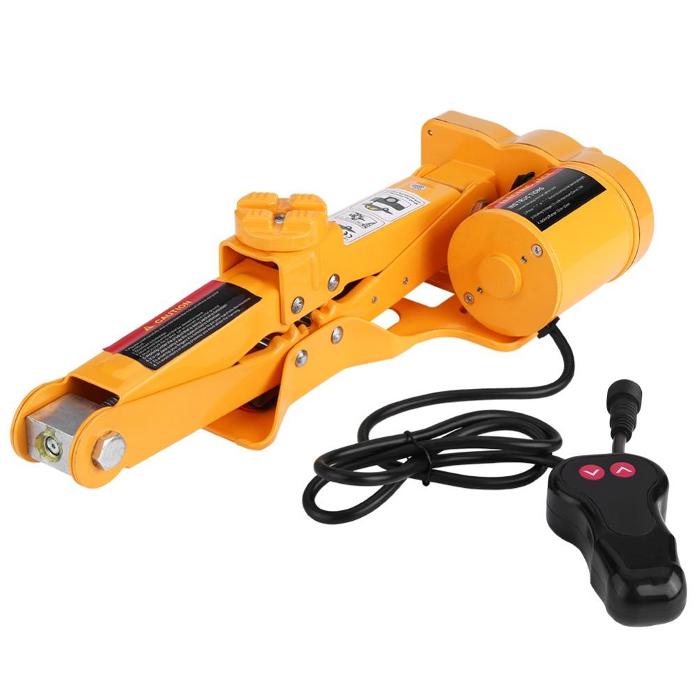 2 Ton 12V DC Automotive Car Automatic Electric Lifting Jack Garage Repair Equipment Auto Multi-function Maintenance Tools