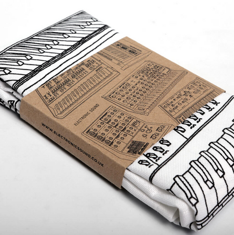Synthesiser Tea Towel